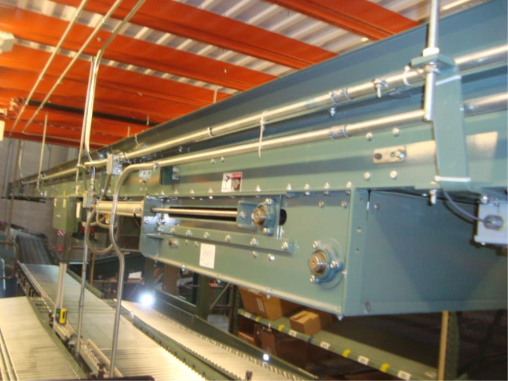 Lot 221 - Overhead Belt Conveyor