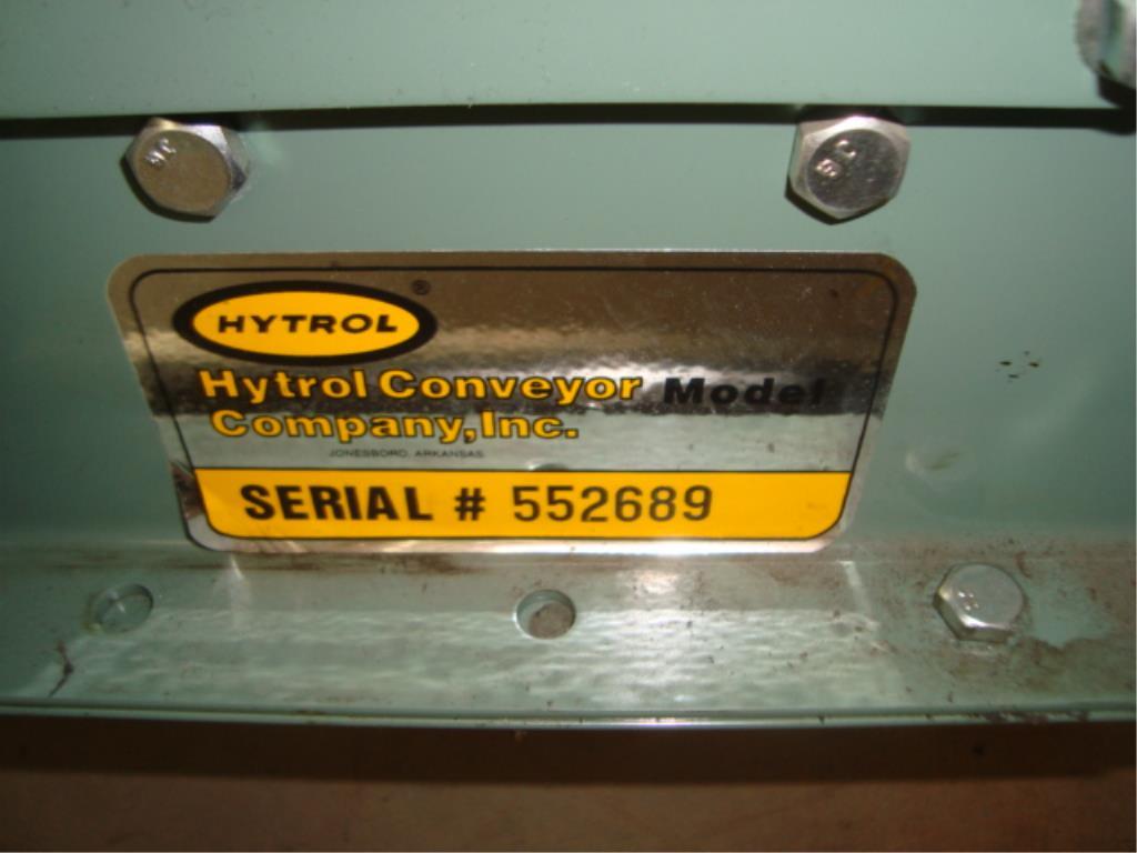 Lot 174 - Powered Roll Conveyor