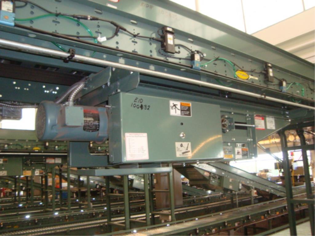 Lot 183 - Powered Roll Conveyor