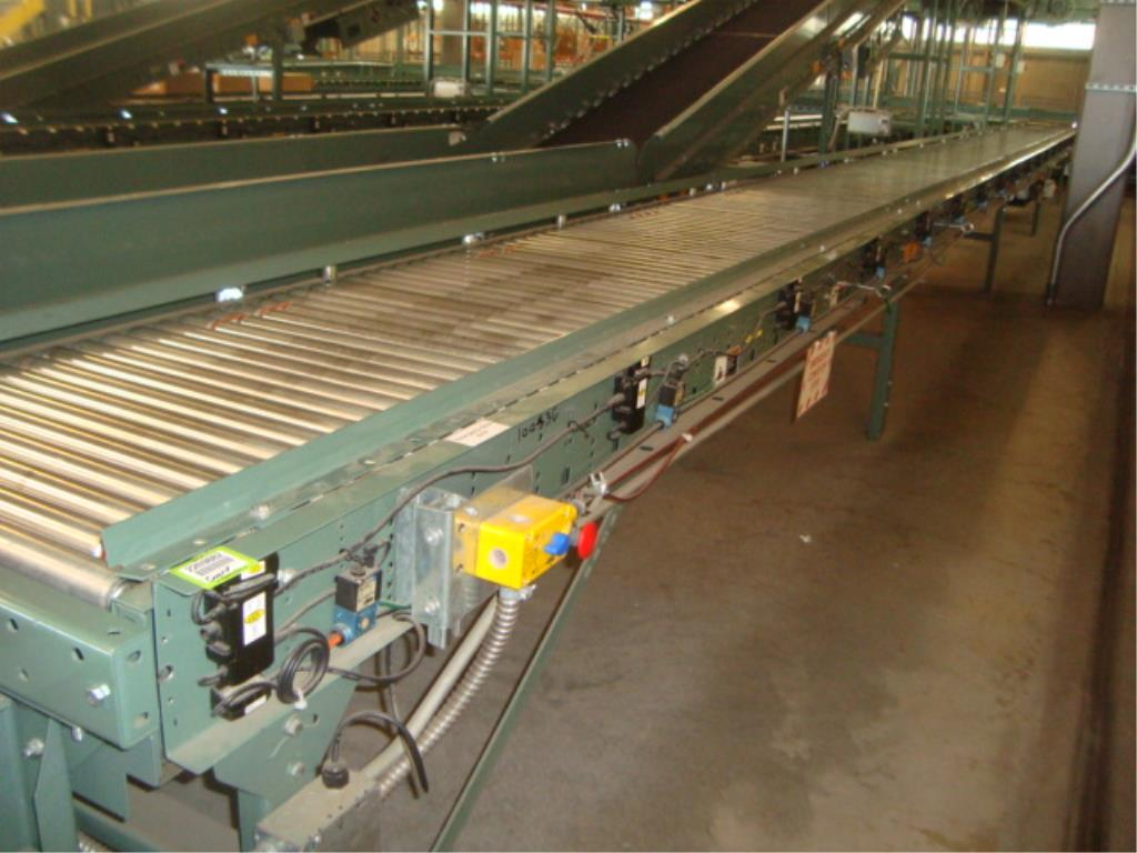 Lot 182 - Powered Roll Conveyor
