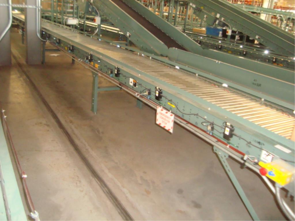 Lot 184 - Powered Roll Conveyor