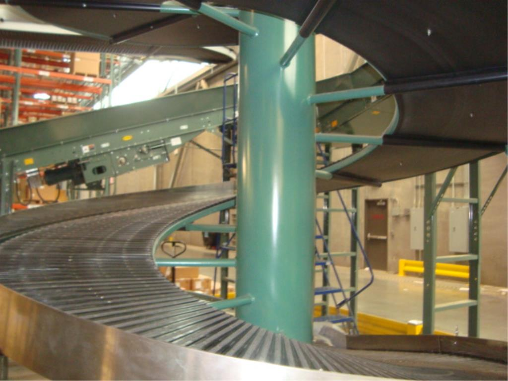 Lot 218 - Elevating Spiral Conveyor