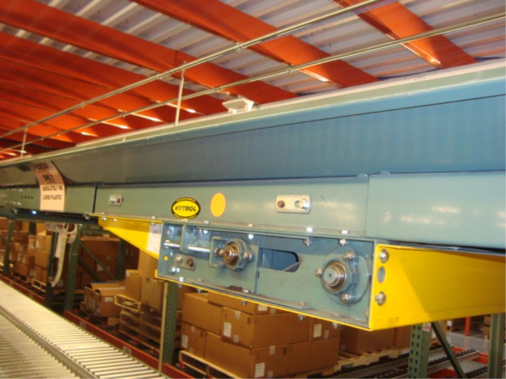 Lot 203 - Overhead Belt Conveyor