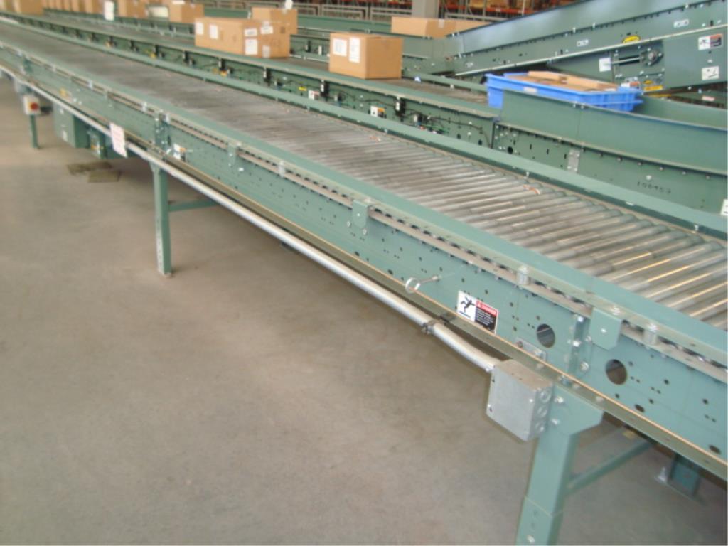 Lot 166 - Powered Roll Conveyor