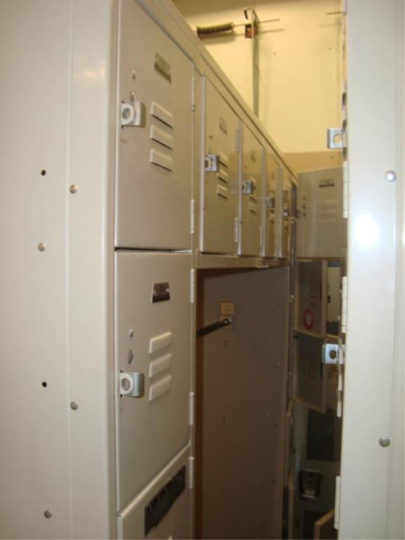 Lot 158 - Locker Cabinets