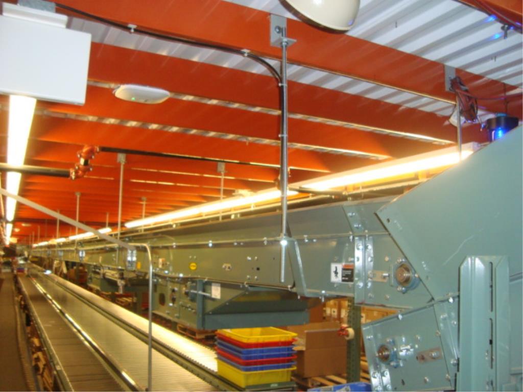 Lot 215 - Overhead Belt Conveyor