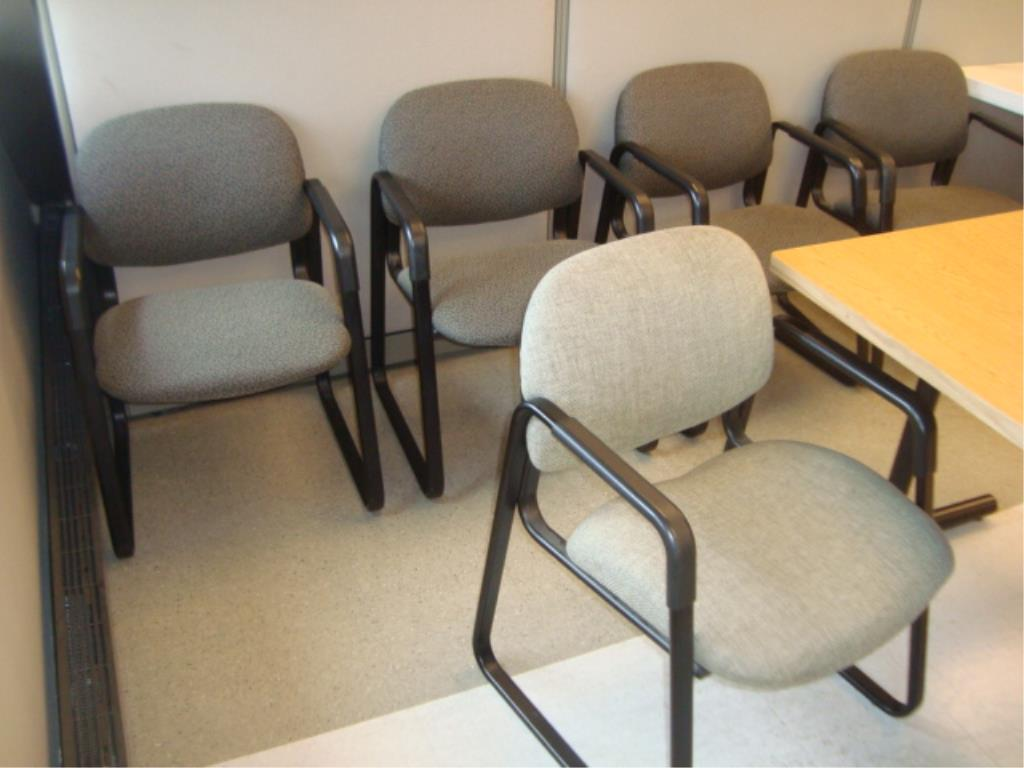 Lot 200 - Training Room Table & Chairs
