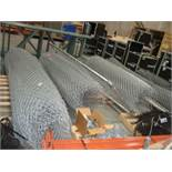 Rolls of Metal Fencing