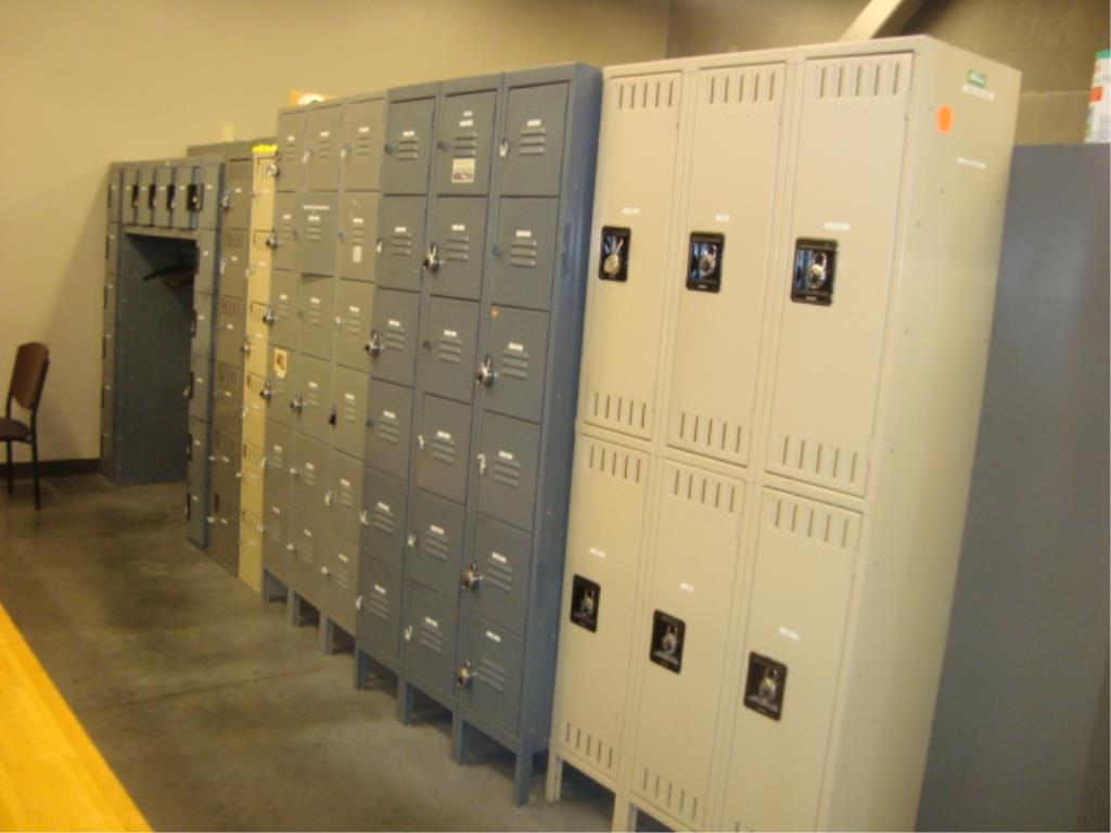 Lot 199 - Personal Locker Cabinets