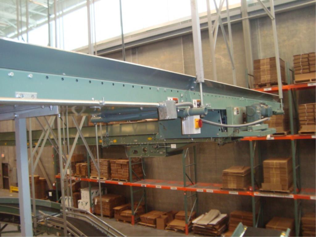 Lot 205 - Overhead Belt Conveyor