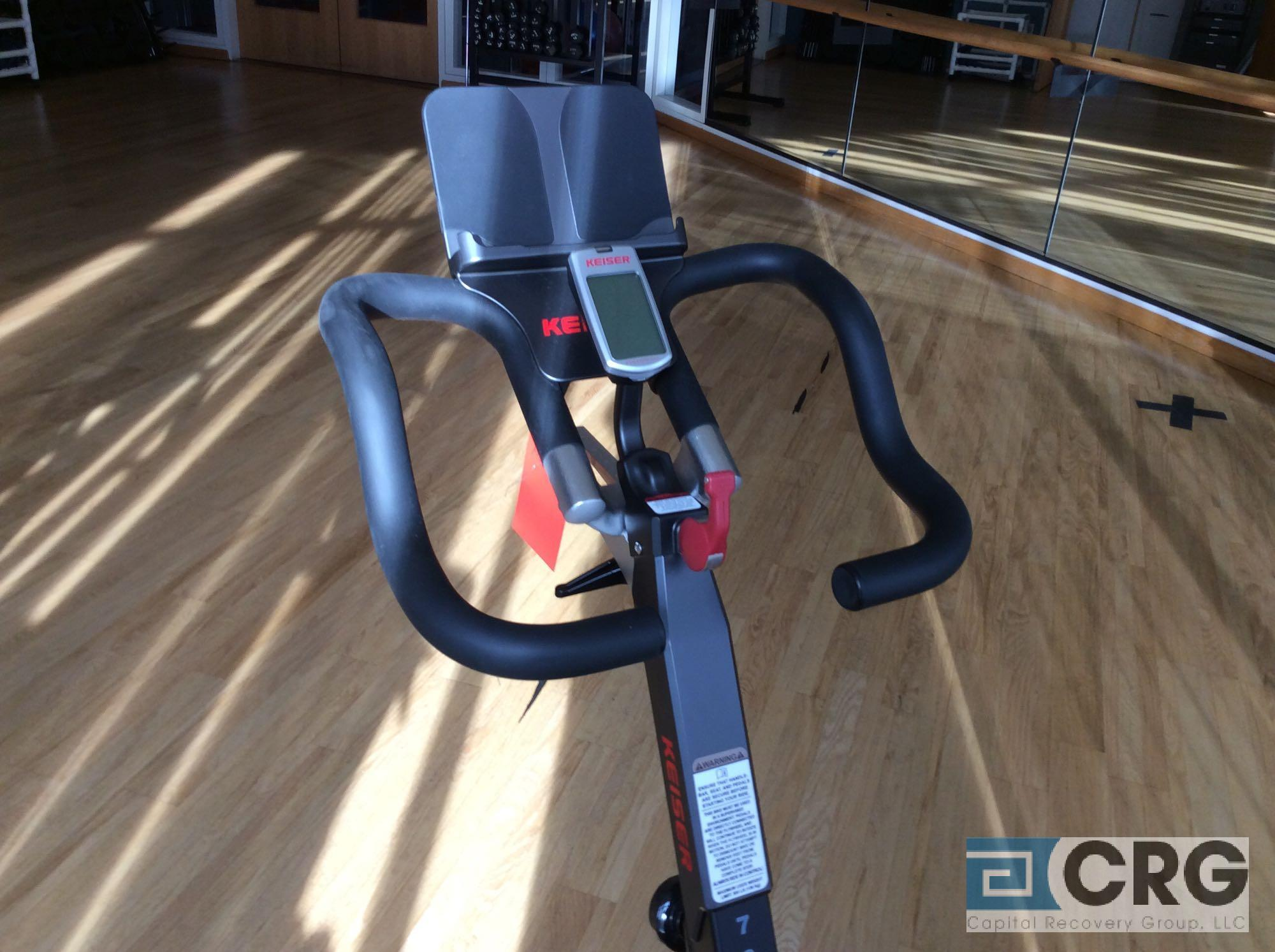 Lot 141 - Keiser M3i Spinning Cycle with Digital Readout
