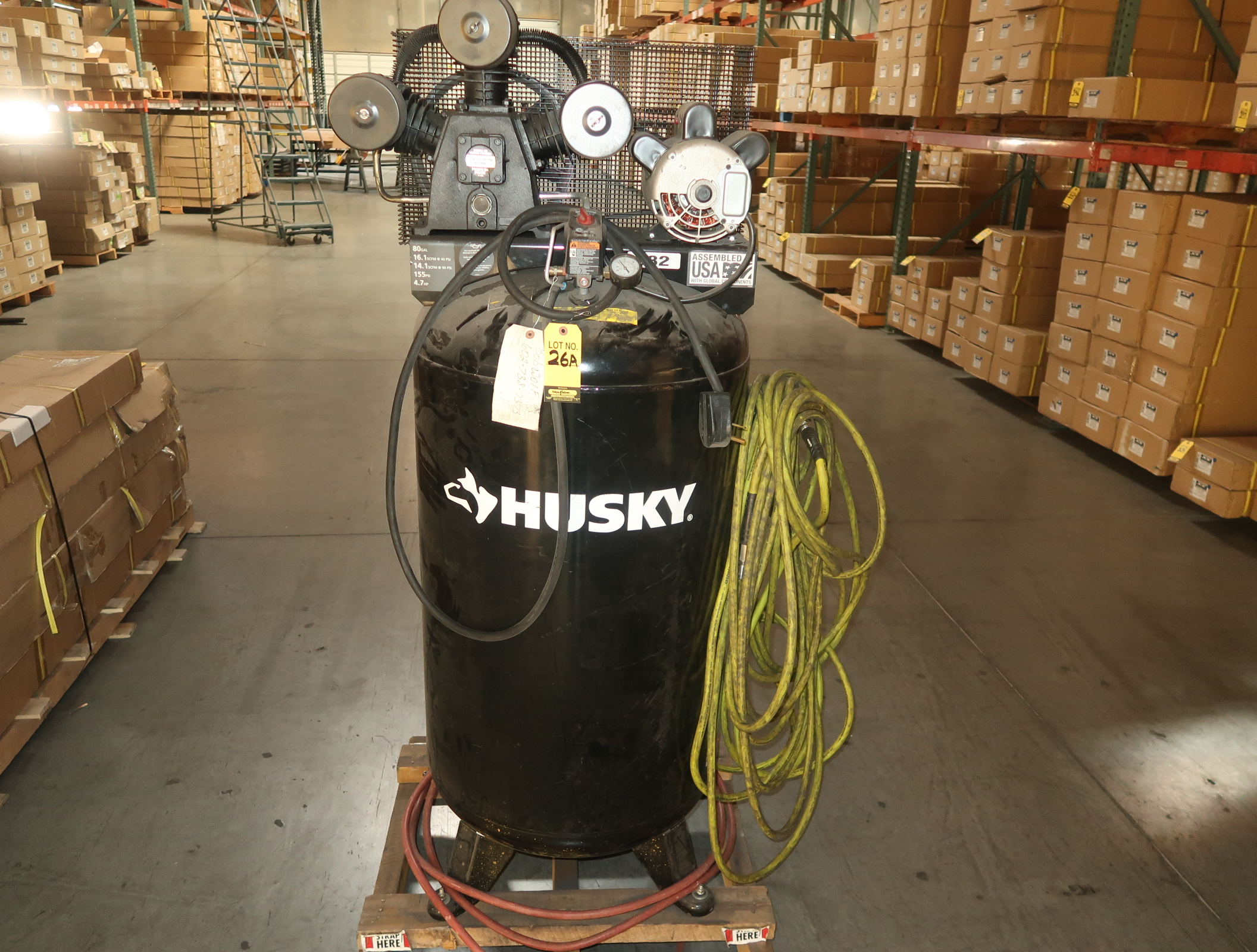 HUSKY 80GLA AIR COMPRESSOR