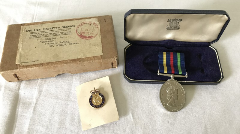 Lot 59 - A Civil Defence Long Service and Good Conduct medal, EIIR.