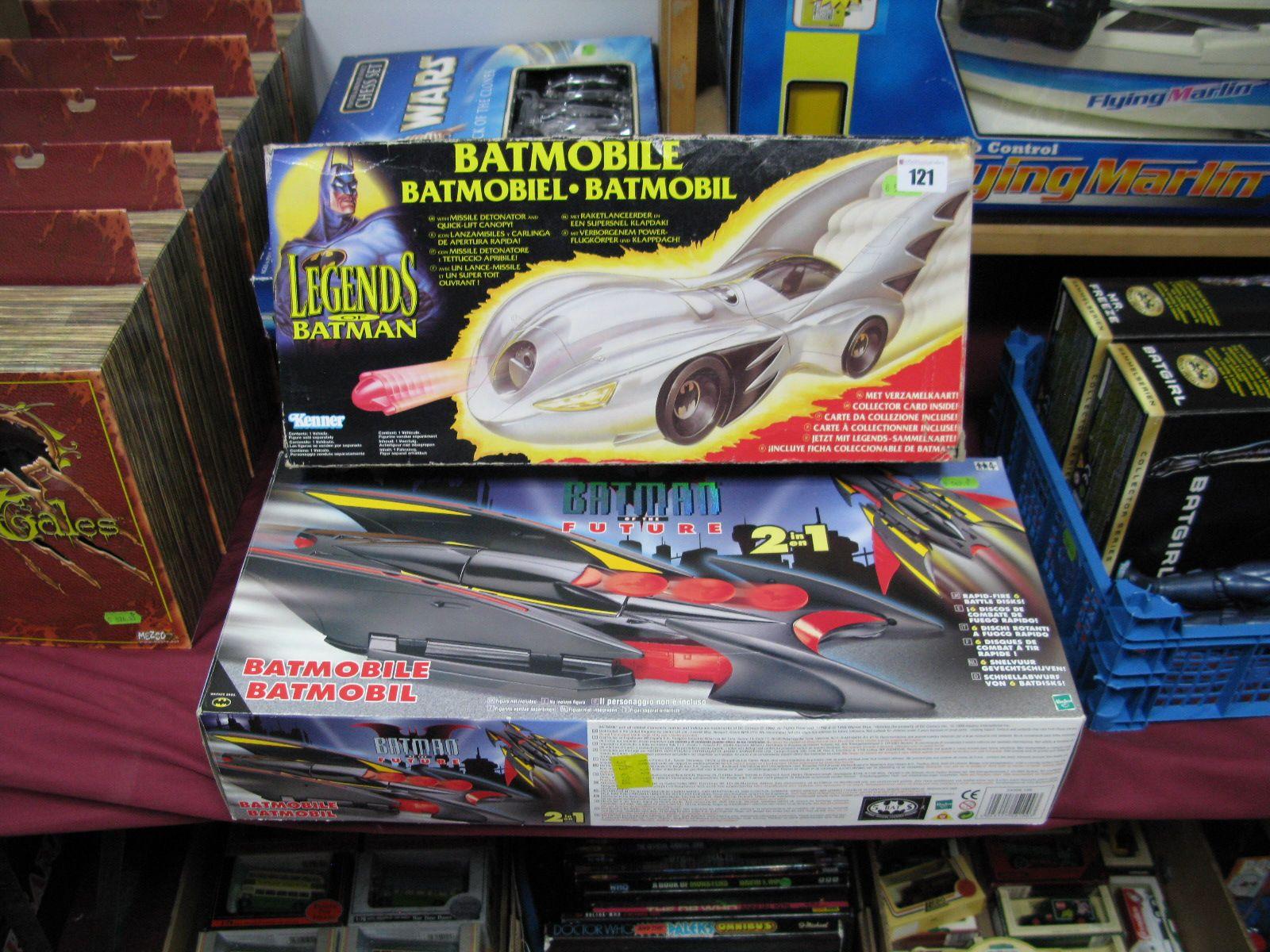 Two Boxed Batman Vehicles Legends of Batman Batmobile by Kenner