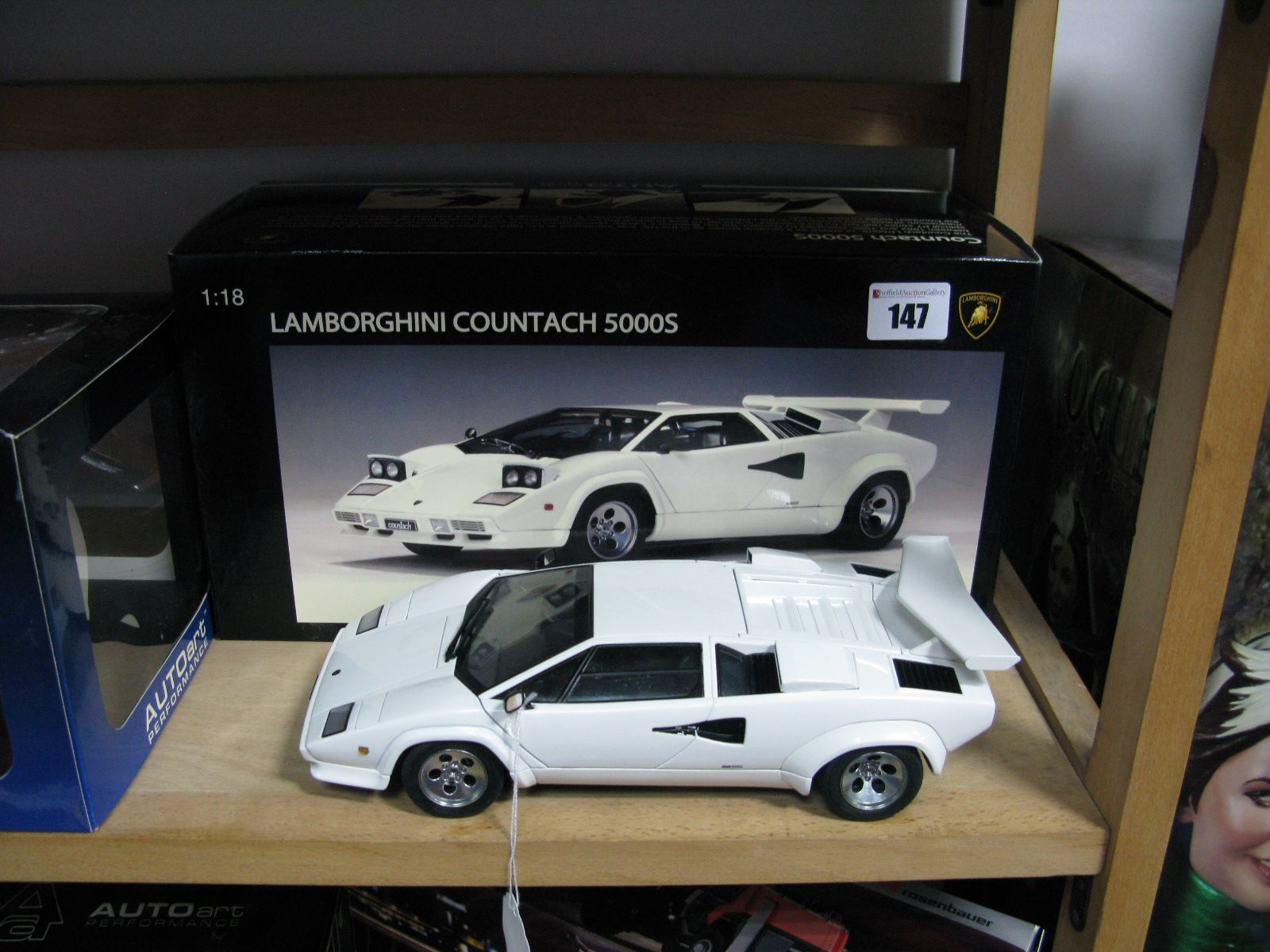 original Cool Lamborghini Countach Diecast 1 18 Cars Trend