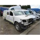 15 reg TOYOTA HILUX ACTIVE DI-D 4 X 4 DCB (DIRECT ELECTRICITY NW) 1ST REG 03/15, V5 MAY FOLLOW (