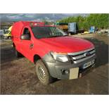 64 reg FORD RANGER XL 4x4 TDCI, 1ST REG 09/14, 120903M WARRANTED, V5 HERE, 1 OWNER FROM NEW [NO