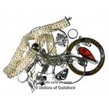 *Selection of mostly silver jewellery, gross weight 225 grams (Lot subject to VAT)