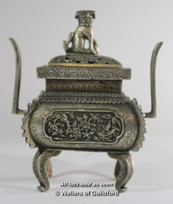 Lot 7195 - A Chinese censor with dog of Fo finial