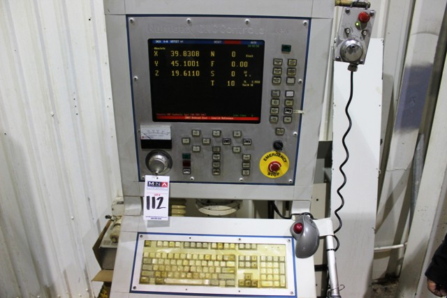 Lot 11 - Nicolas Correa FP 40/30 CNC Universal Bridge Mill, Nuamtic MAP-4 Ctrl (Located in Edmonton, Canada)