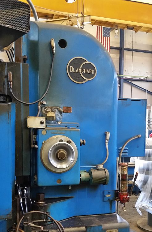 """Lot 20 - 48"""" Blanchard 27-48 Rotary Surface Grinder, 100HP, s/n 12860, new 1968 (Located in Fontana, CA)"""