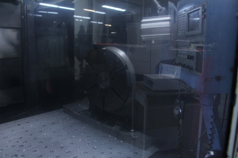 """Lot 5 - Haas HRT-310 CNC Rotary Table, 12.2"""" diameter faceplate"""