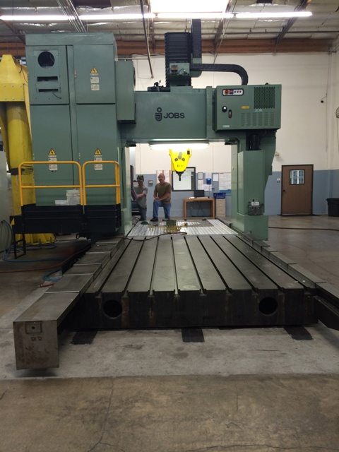 Lot 16 - Jobs Jomach 23 5-Axis CNC Gantry-Style Machining Center, Fidia M-2 Control, 1992 Located in Brea, CA