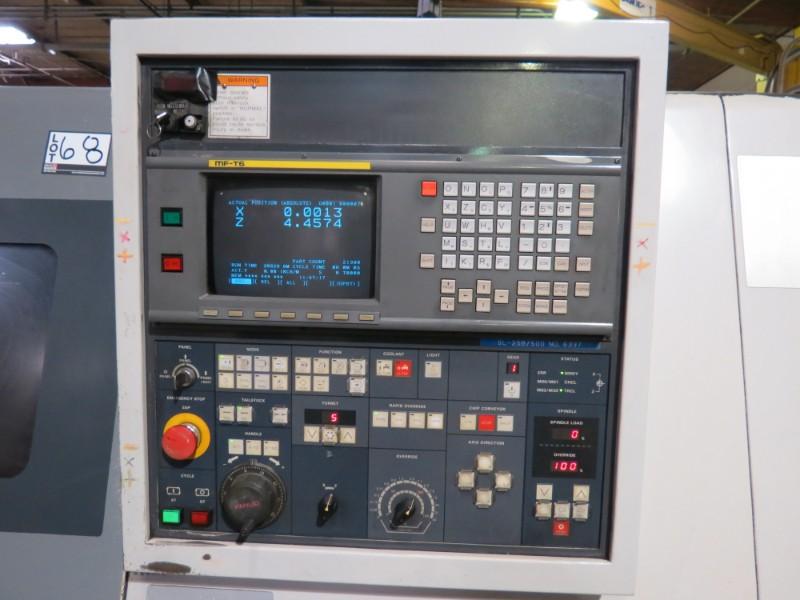 Lot 28 - Mori -Seiki SL-25B, fanuc 16TA controls, 10'' chuck, s/n 6337 New 1993 (Located in Simi Valley, CA)