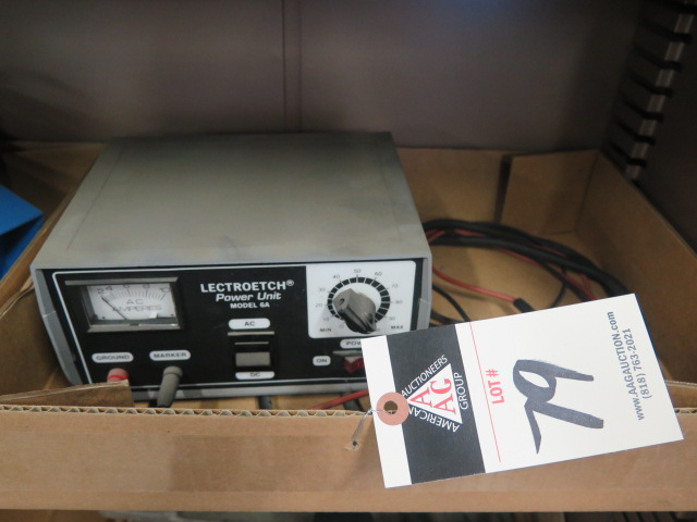 Lot 79 - Lectrotech mdl. 6A Power Unit