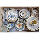 A large quantity of vintage tea wares and other items including Mason's and Royal Doulton