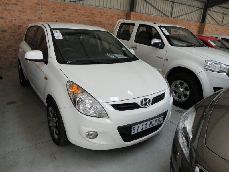 2012 BV11MLGP Hyundai i20 1 6 (Vin No: MALBC51DLCM365443