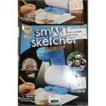 2 Boxed Smart Sketcher Projector Picture Tracers RRP £140 (RET01148297) (RET00311248) (Appraisals
