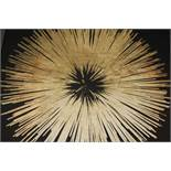 Golden Burst Canvas Wall Art Picture RRP £105 (17878) (Appraisals Available Upon Request)