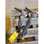 """Metabo WEPB19-180 (2) 7"""" Angle Grinders 15A, 120V, 50/60HZ"""