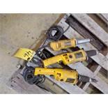 """Dewalt (3) Die Grinders (2) 2"""" Model:DW888, 5A, 120V, 50/60HZ; (1) 1-1/2"""" Model BW887, 120V, 50/"""