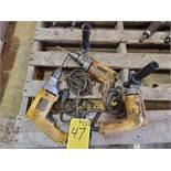 """Dewalt DW325G (3) 1/2"""" VSR Drills 7.8A, 120V, 50/60HZ"""