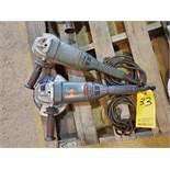 """Metabo W24-230 MVT (1) 9"""" Angle Grinder 4.5HP, 15A, 120V, 50/60HZ; W/ (1) 7"""" Metabo Angle Grinder"""