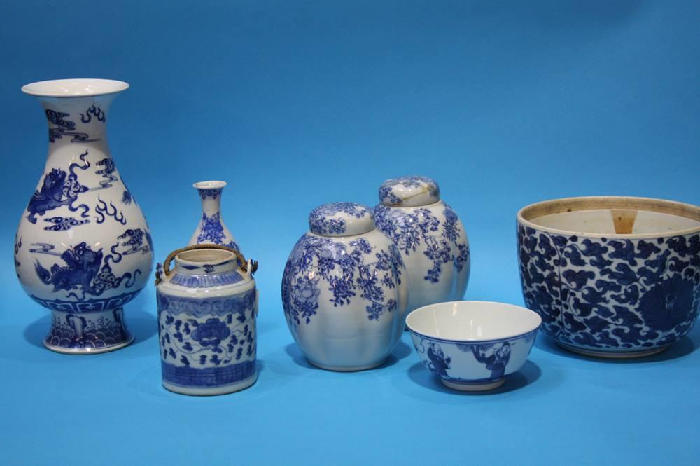 Lot 1 - A quantity of Oriental china (7)