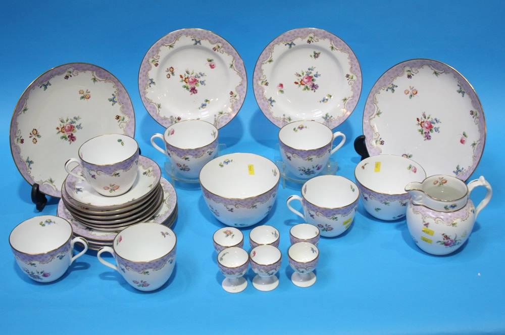 Lot 56 - A Spode Copelands china tea set