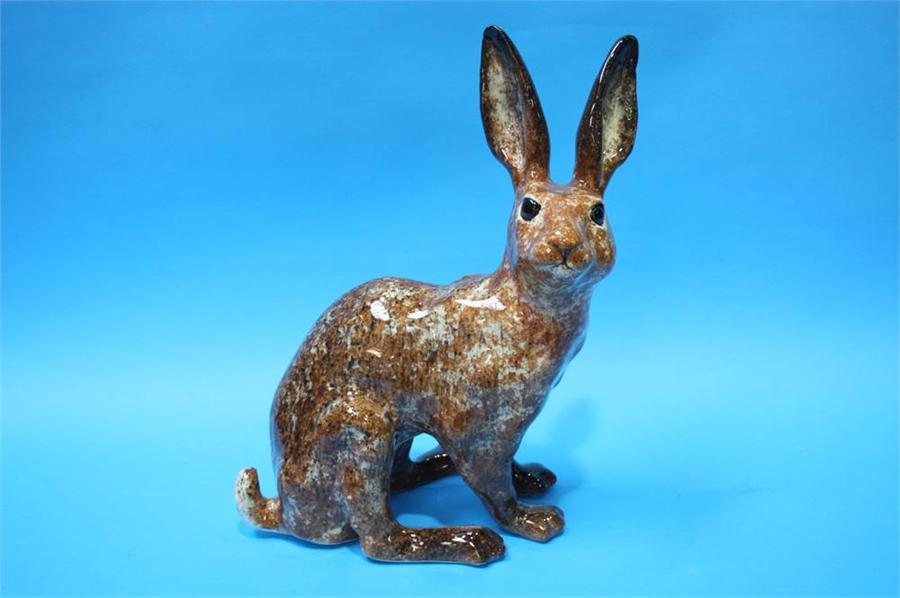 Lot 75 - A brown Winstanley Hare