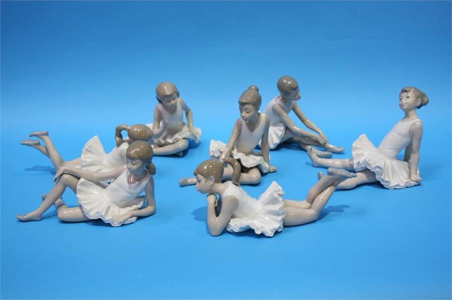 Lot 23 - Seven Nao Ballerinas