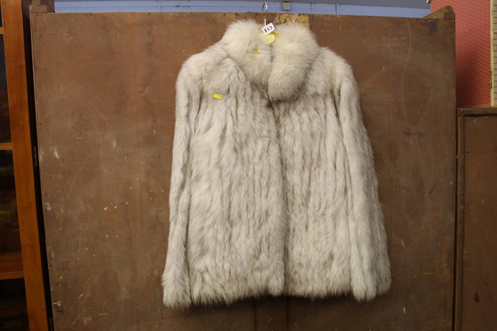 Lot 113 - Fur coat