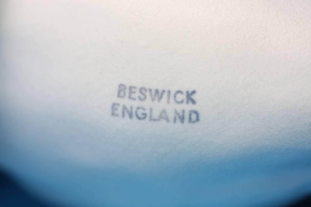 Lot 49 - Two grey Beswick horses