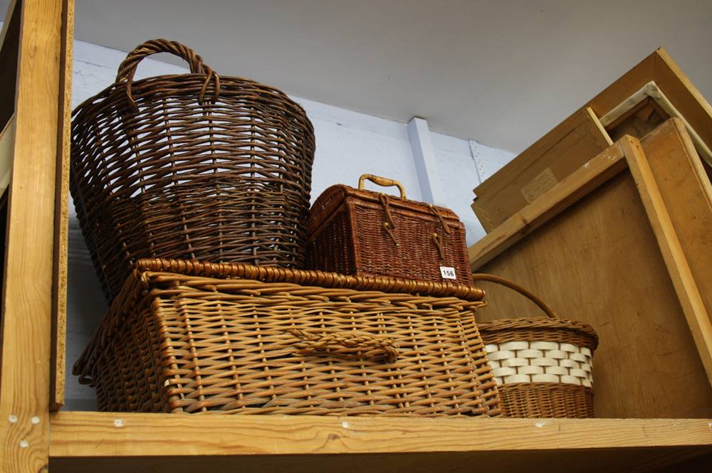 Lot 156 - Quantity of baskets