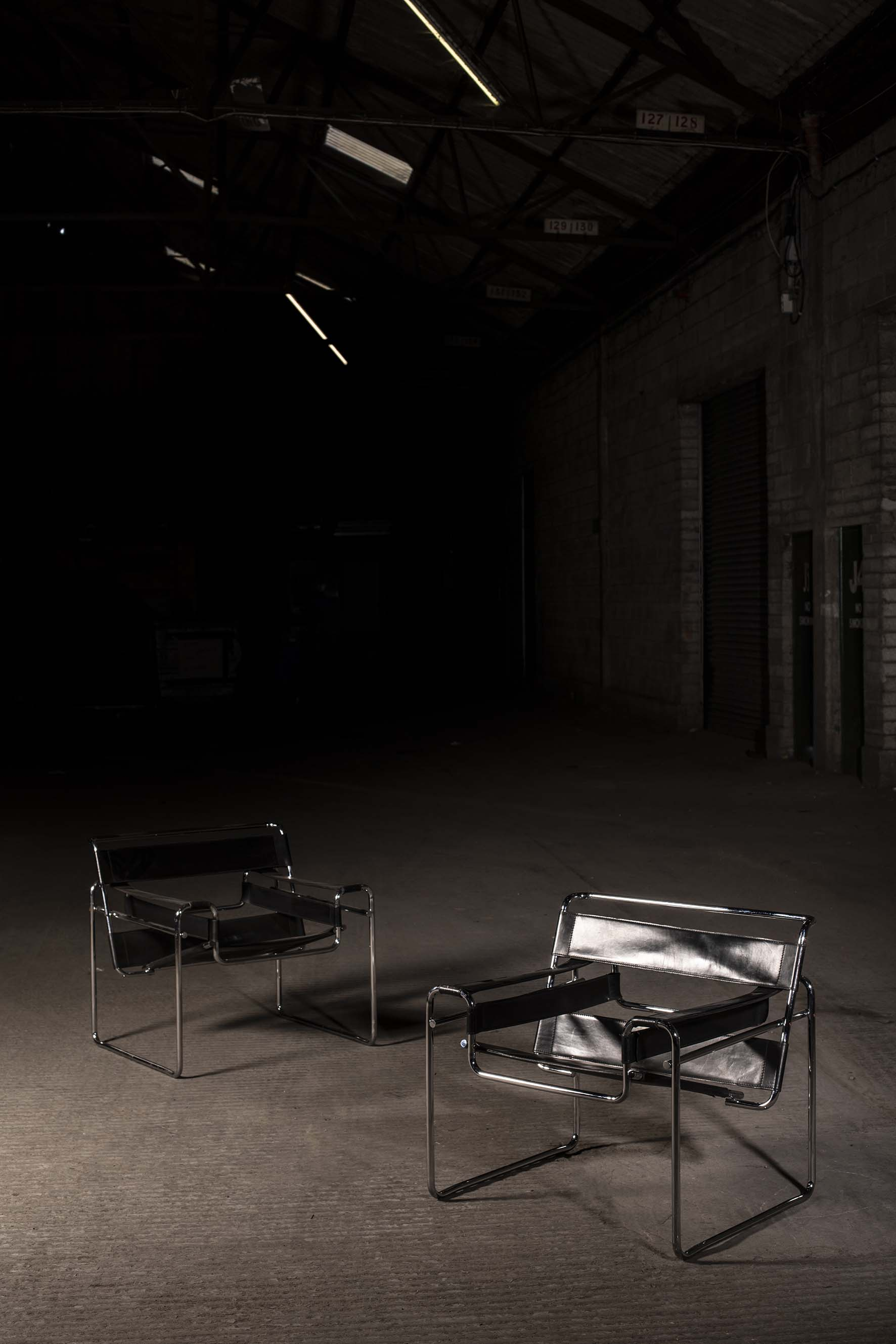Lot 44 - WASSILY CHAIRS by Marcel Breuer
