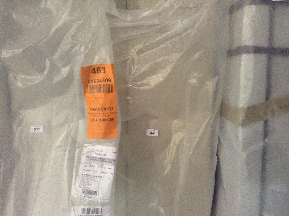 Option of lots 507 508 double storage ottoman for Divan 506
