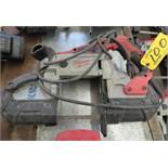 MILWAUKEE ELECTRIC PORTABLE BANDSAW