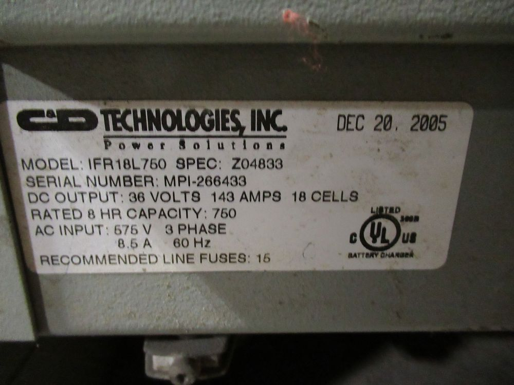 2000 CATERPILLAR NRR40 ELECTRIC REACH TRUCK, 3,300LB CAP., 2-STAGE, SIDE SHIFT, FERRO FIVE 1FR18L- - Image 8 of 8