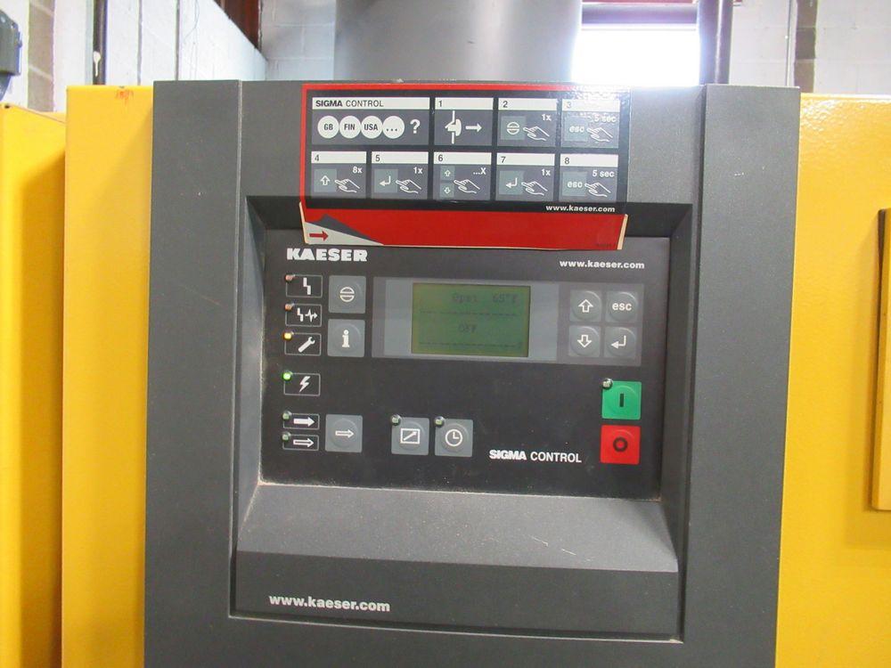 2006 KAESER BSD-50 50HP AIR COMPRESSOR W/ SIGMA CONTROL, S/N 1030 - Image 3 of 4