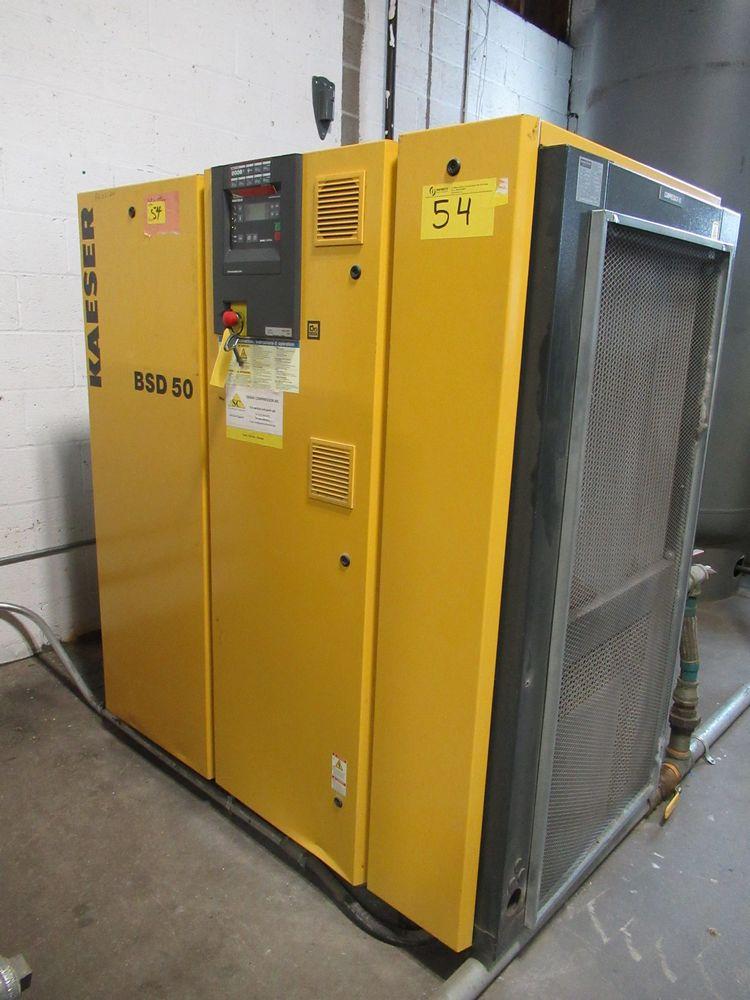 2006 KAESER BSD-50 50HP AIR COMPRESSOR W/ SIGMA CONTROL, S/N 1030 - Image 2 of 4
